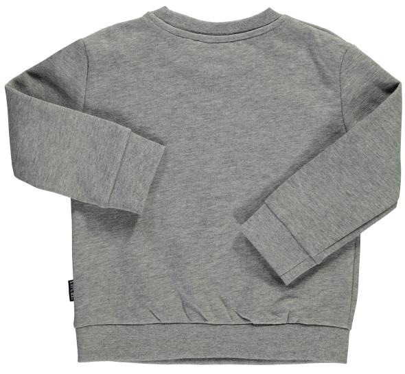 Mädchen Sweatshirt mit kleinem Schriftprint