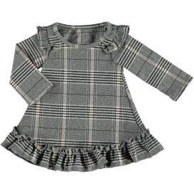 Baby Mädchen Kleid im Karodessin