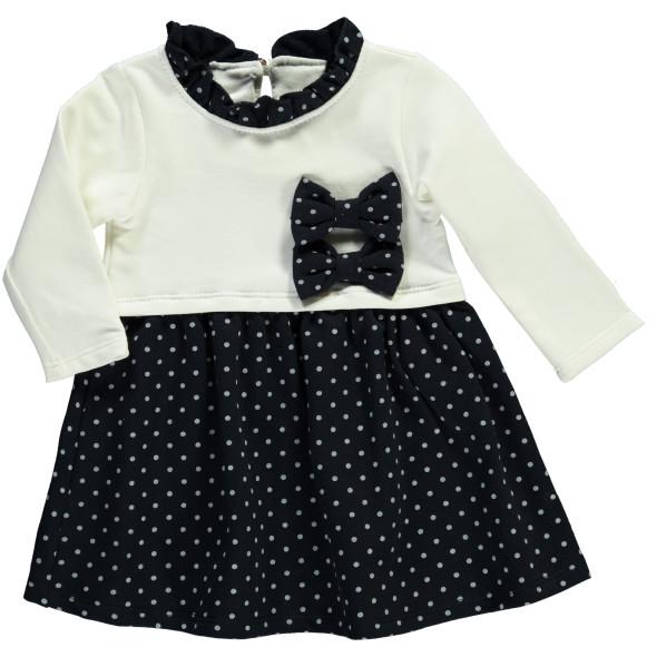 Baby Mädchen Kleid mit Schleifen