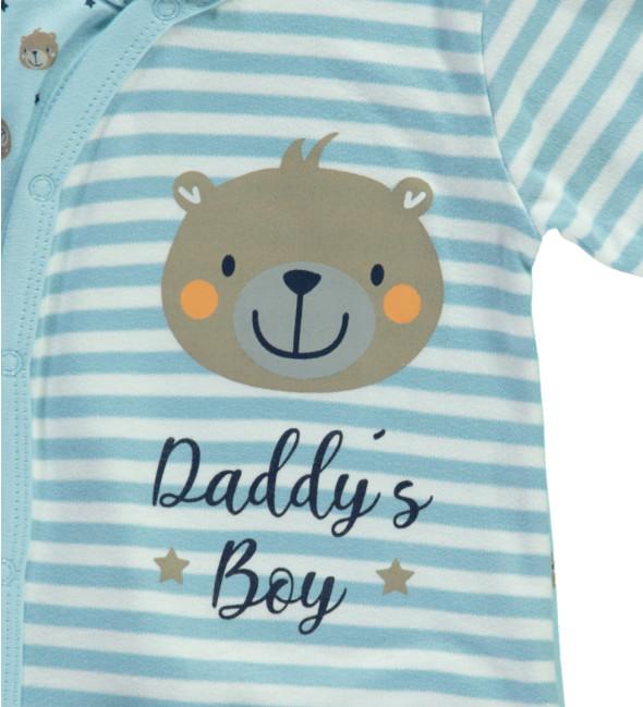 Baby Jungen Pyjama mit Alloverprint