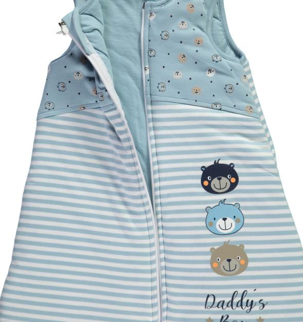 Baby Jungen Schlafsack
