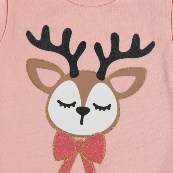 Mädchen Weihnachtspullover