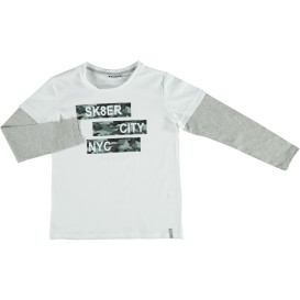 Jungen Longsleeve in 2in1 Optik