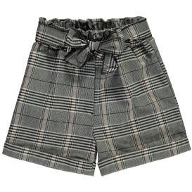 Mädchen Karo-Shorts mit Schleife