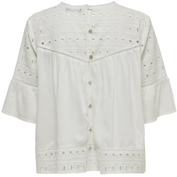 Only ONLIRINA EMB ANGLAISE Bluse