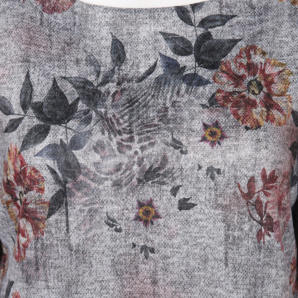 Damen Sweatshirt mit 3/4 Arm