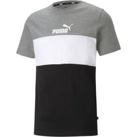 Herren Shirt mit Logoprint und Streifen