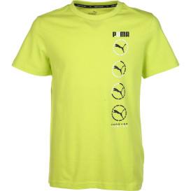 Jungen Sport Shirt mit schlichtem Print