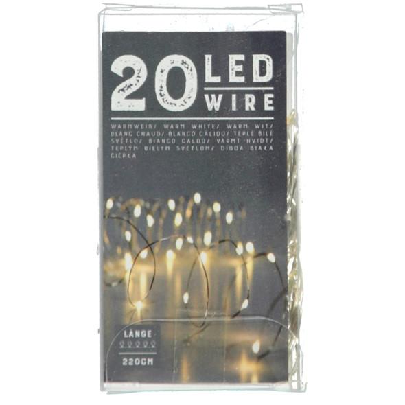 Lichterkette mit 20 LED`s