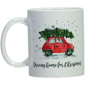 Trinktasse mit Weihnachtsmotiv