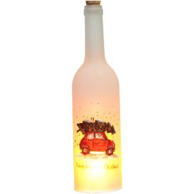 Flasche in Flammen mit LED`s