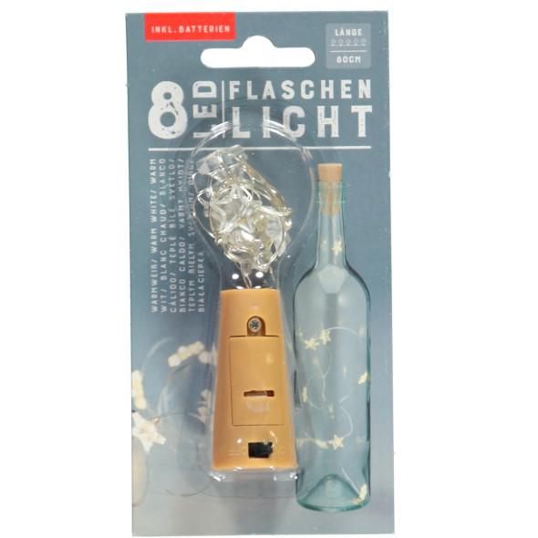 Flaschenlicht mit LED Lichtern