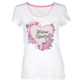 Hailys MADL Shirt mit Print und Pailletten