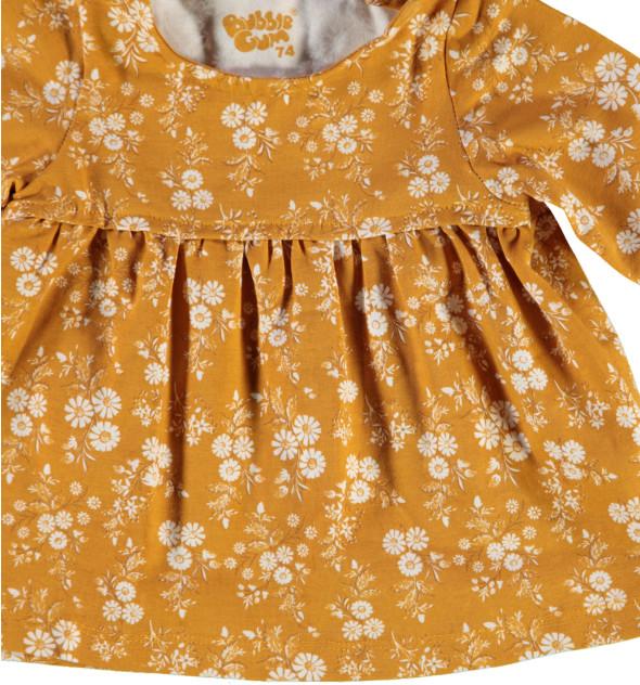 Baby Mädchen Kleid im Minimalprint