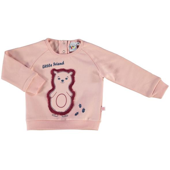 Baby Mädchen Sweatshirt mit lustigem Print