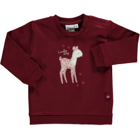 Baby Sweatshirt mit Stickerei-Applikation
