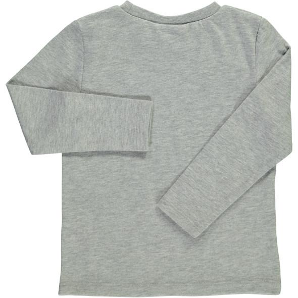 Jungen Langarmshirt mit Paillettenmotiv
