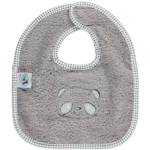 Baby Lätzchen mit Stickerei-Applikation