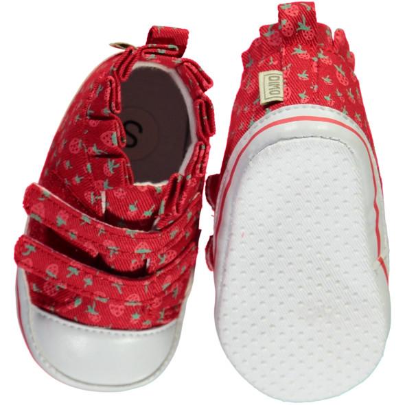 Baby Schuhe mit Blümchen