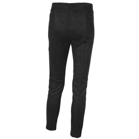 Damen Hose in Veloursmaterial