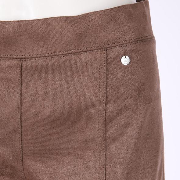 Damen Hose in Veloursmaterial