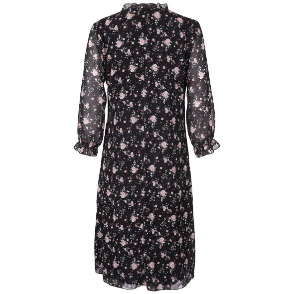 Damen Kleid mit Blümchen Print
