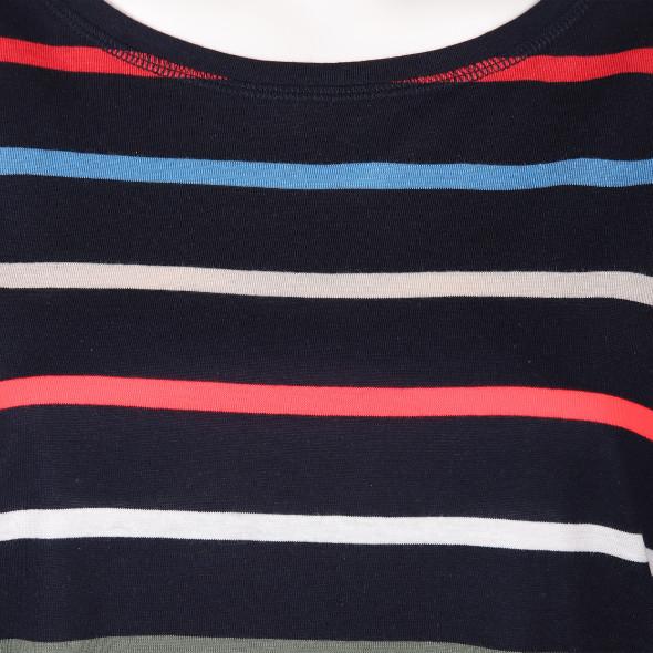 Damen Shirt in auffälligem Streifendessin
