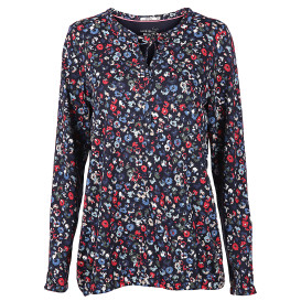 Damen Shirt mit Alloverprint