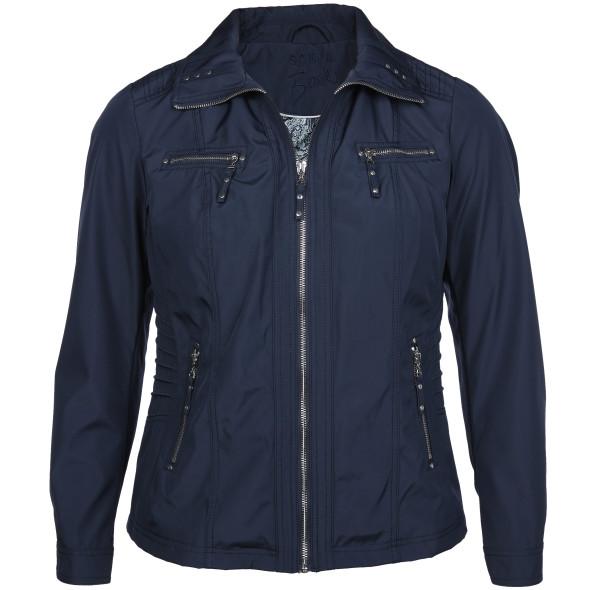 Große Größen Jacke mit Stehkragen