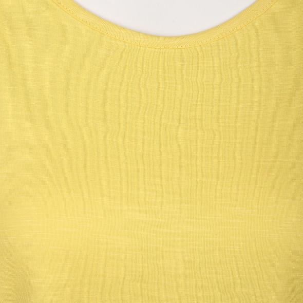 Damen Shirt unifarben