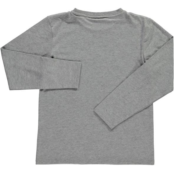 Jungen Langarmshirt mit Print und Wendepailletten