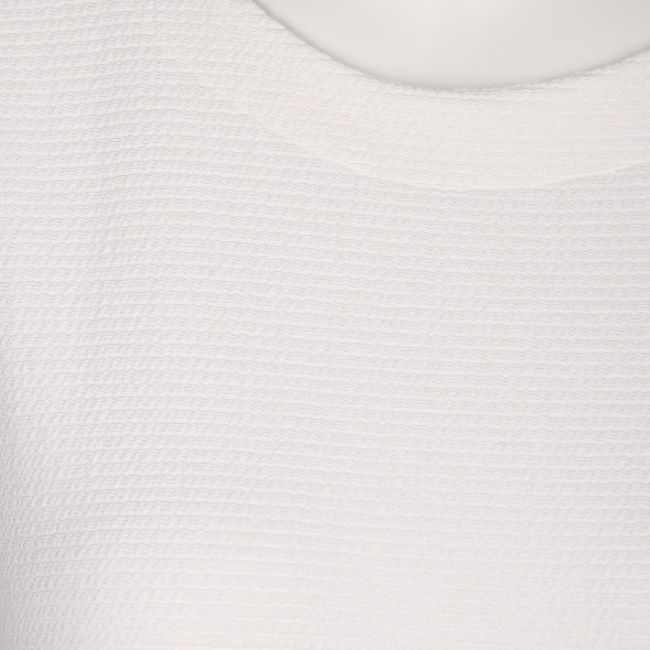 Damen Jaquard Shirt mit Ripp-Struktur