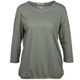 Damen Shirt, gestreift mit 3/4 Arm