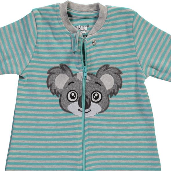 Baby Jungen Pyjama mit Stickerei Applikation