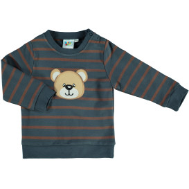 Baby Sweatshirt mit Stickerei Appliaktion