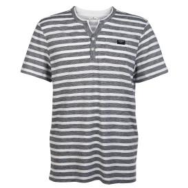 Herren Shirt mit Streifen und Brusttasche
