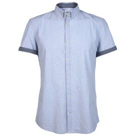 Herren Hemd mit Minimalprint