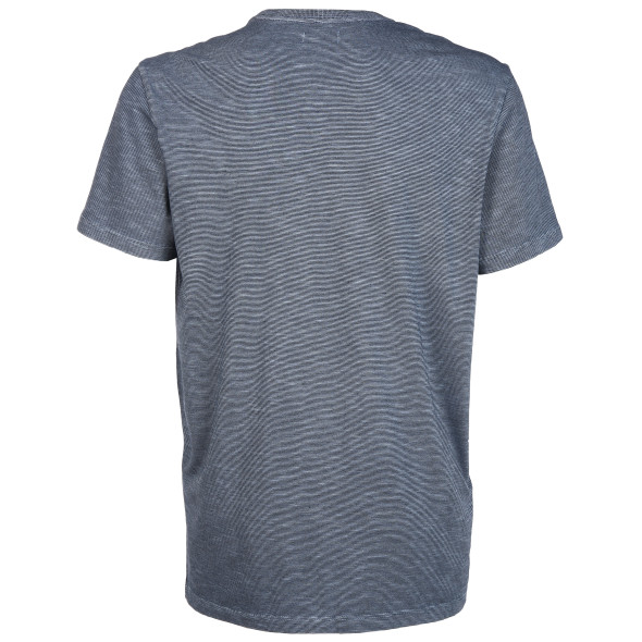 Herren Streifenshirt mit kleinem Print auf der Brust