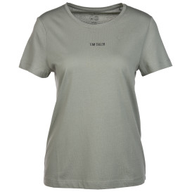 Damen T-Shirt mit kleinem Logoprint