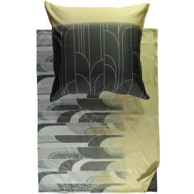 Satinbettwäsche mit tollem Muster, 135x200cm