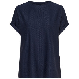 Only ONLIDA S/S O-NECK TOP Strukturshirt