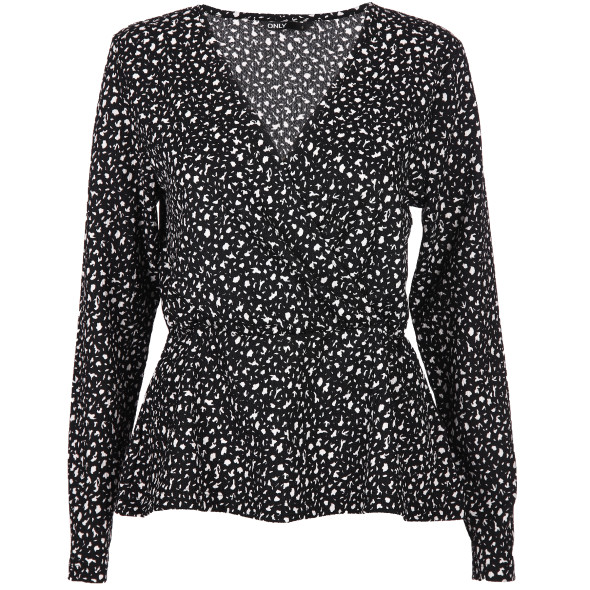 Only ONLZILLE NAYA L/S FIX Wickelshirt