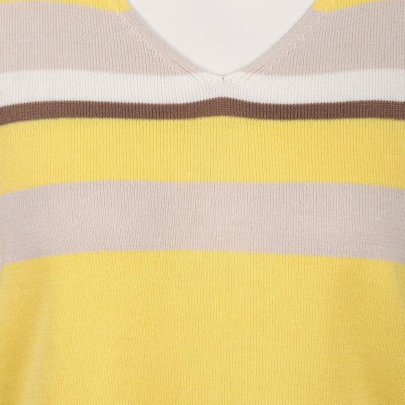 Damen Feinstrickpullover mit Streifen