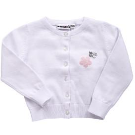Baby Mädchen Cardigan mit Pailletten-Motiv
