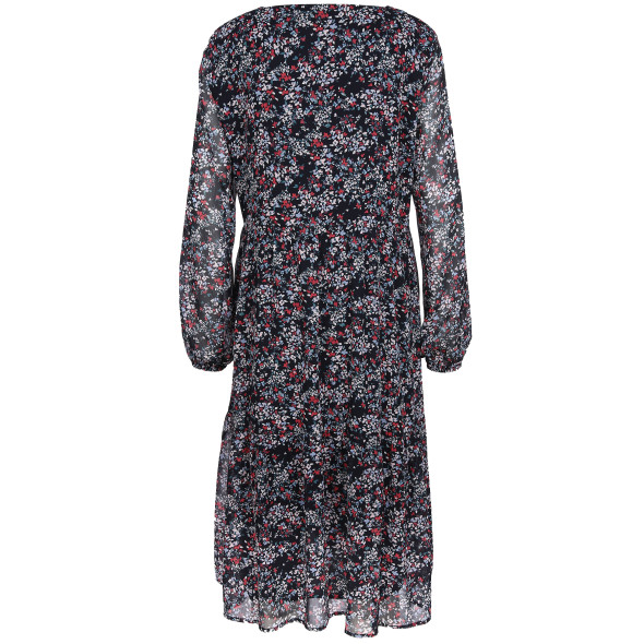 Damen Kleid mit floralem Alloverprint