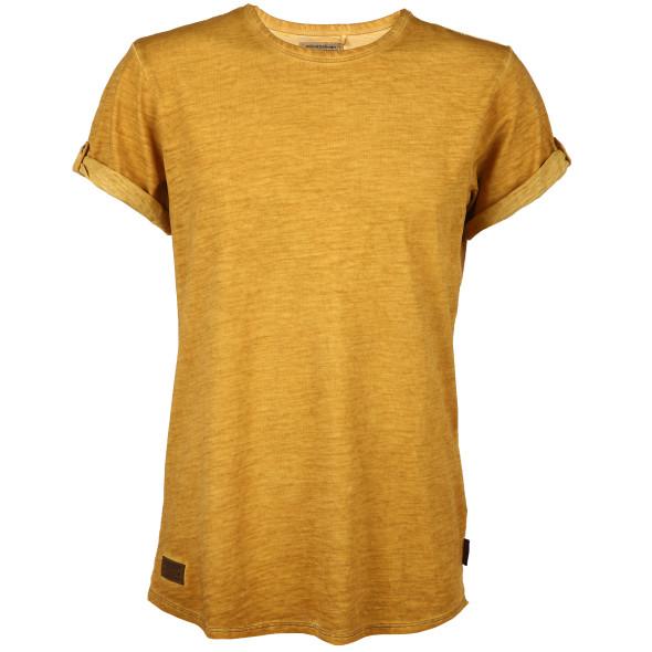 Herren Shirt unifarben