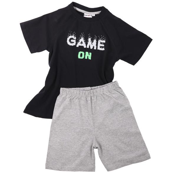 Jungen Pyjama mit Schriftzug