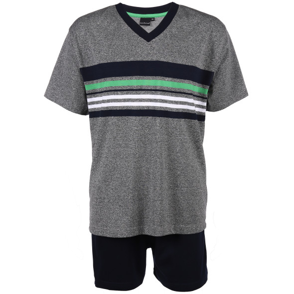 Herren Kurzarm-Pyjama Set