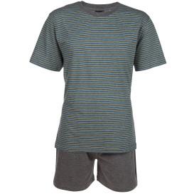 Herren Pyjama in kurzer Form