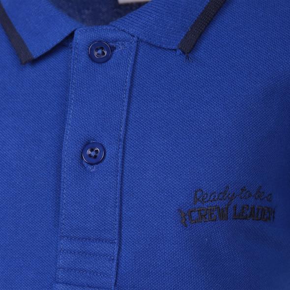 Jungen Poloshirt mit Stickerei